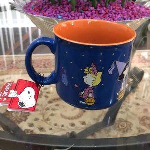 Peanuts Large Ceramic Mug Halloween 8936